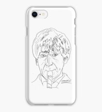 Patrick Troughton - 2nd Doctor iPhone Case/Skin