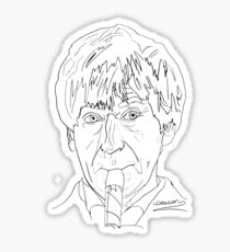 Patrick Troughton - 2nd Doctor Sticker