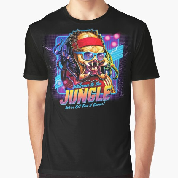 Predator - Welcome to the Jungle! Graphic T-Shirt
