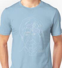 Patrick Troughton - 2nd Doctor (white) T-Shirt