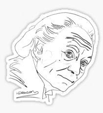 William Hartnell - 1st Doctor Sticker