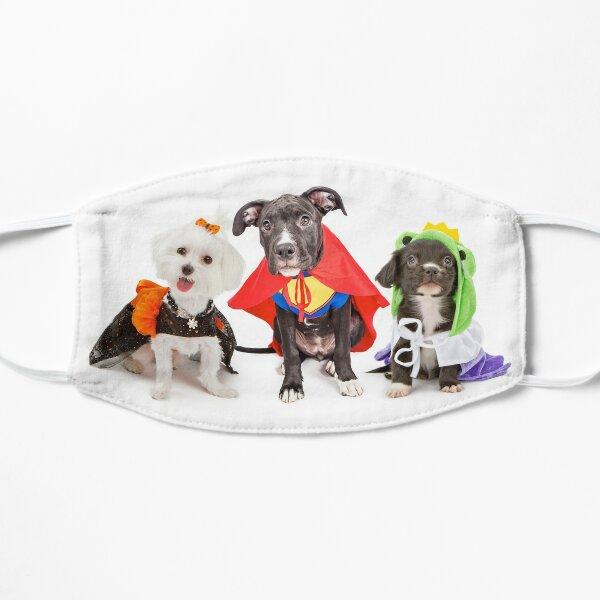 Happy Puppy Halloween Flat Mask