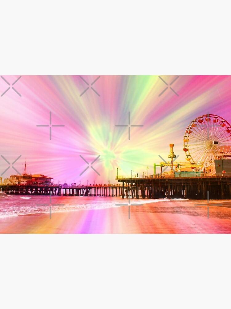 Pink Explosion Santa Monica Pier by stine1