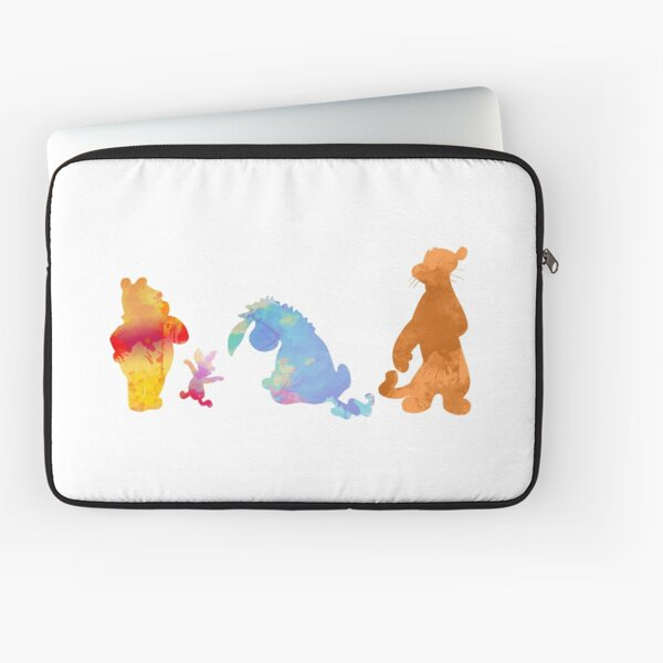 Friends Inspired Silhouette Laptop Sleeve