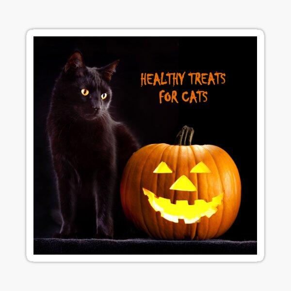 Happy Black Cat Halloween  Sticker