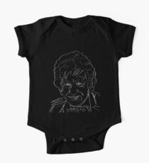 Jon Pertwee - 3rd Doctor (white) Kids Clothes