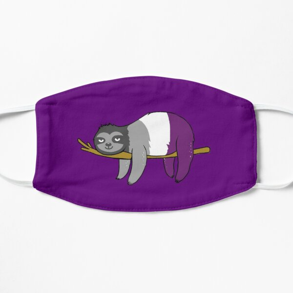 Asexual Sloth for Asexual Pride Day Mask