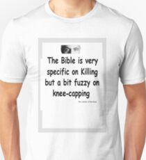 The Rev Book Killing / Knee-capping Unisex T-Shirt