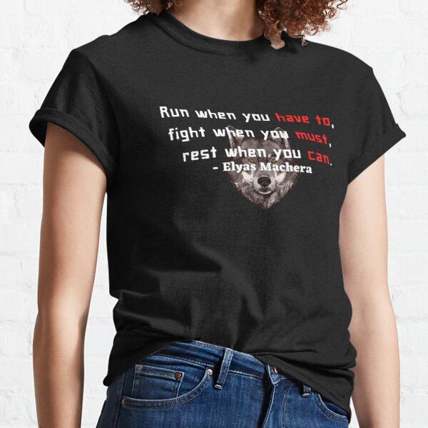 Elyas Machera Quote Classic T-Shirt