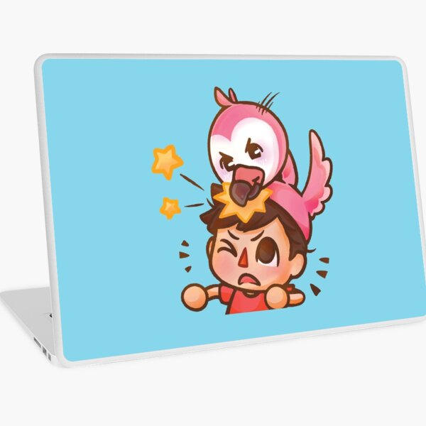 Flamingo Youtube Laptop Skin
