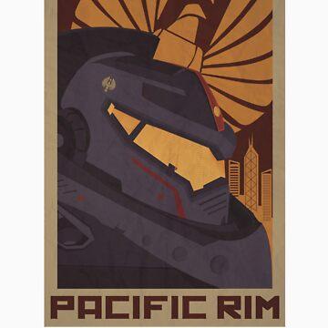 Pacific Rim - Gypsy Danger by Irdesign