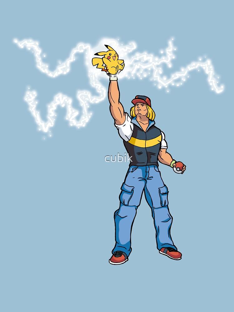 Poké-MAN: I HAVE THE PIKAAAAAAAA! by cubik