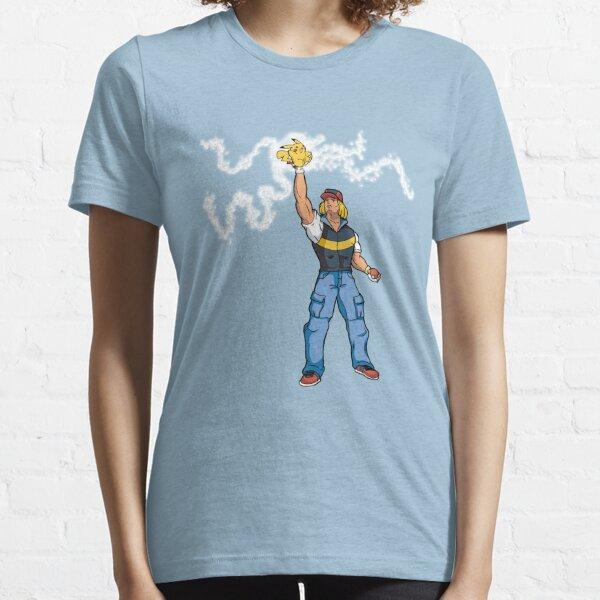 Poké-MAN: I HAVE THE PIKAAAAAAAA! Essential T-Shirt