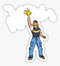 Poké-MAN: I HAVE THE PIKAAAAAAAA! Sticker