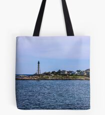 Marblehead Light In Marblehead Neck 2 Tote Bag