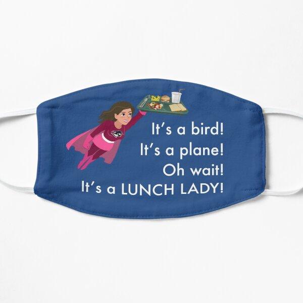 Brunette Superhero Lunch Lady Mask