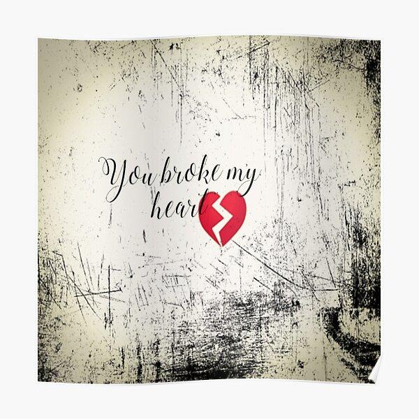 Zerbrochen mein herz ist Mein Herz