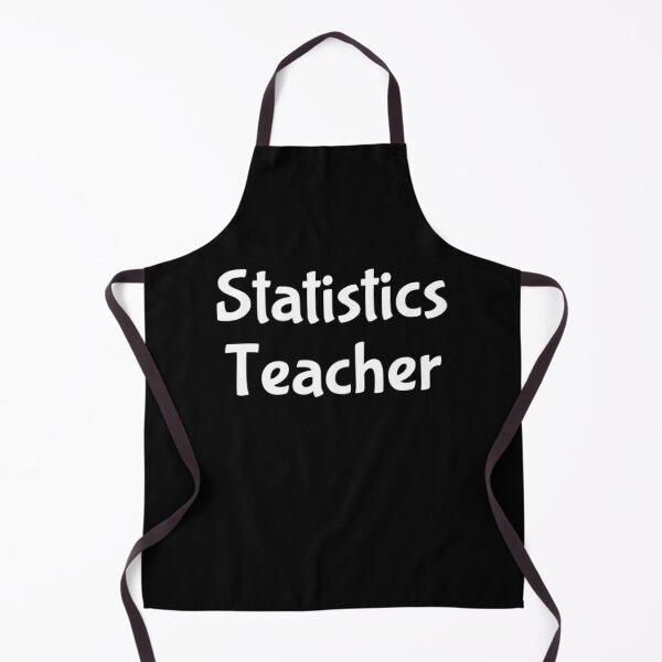 Statistics Teacher Apron
