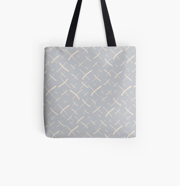 Star Crosses Light | Pattern All Over Print Tote Bag