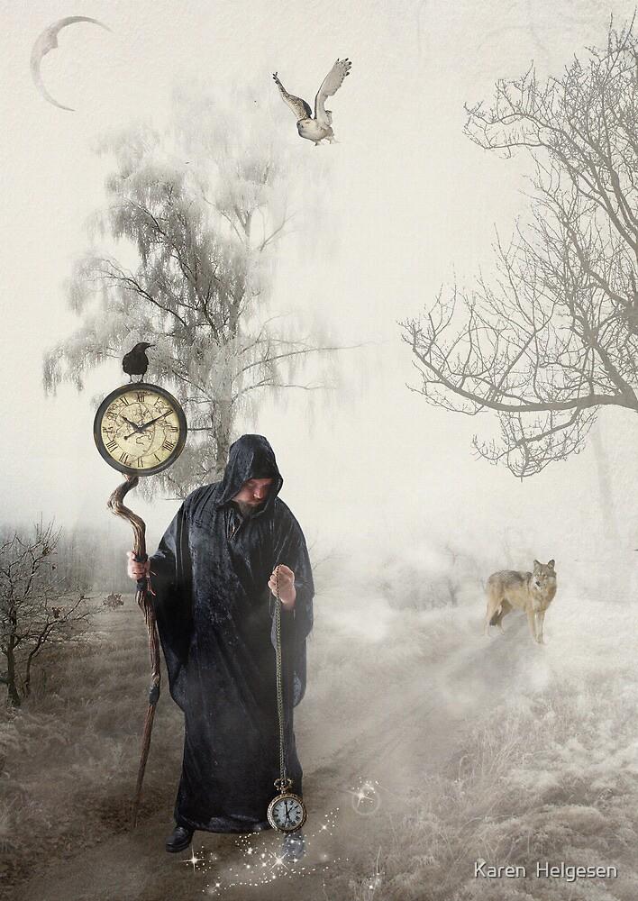 The Time Keeper... by Karen  Helgesen