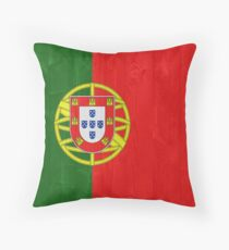 Portugal flag Throw Pillow