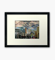 The Store Detective Unsurprised Framed Print