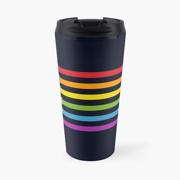 Lightsaber Rainbow Travel Mug