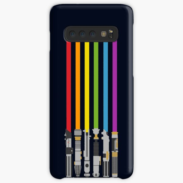 Lightsaber Rainbow Samsung Galaxy Snap Case