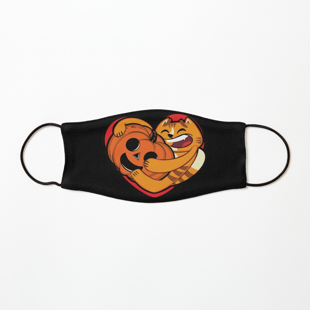 Pumpkin Heart Mask