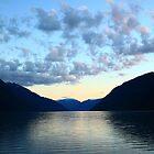 Fjord twilight by zumi