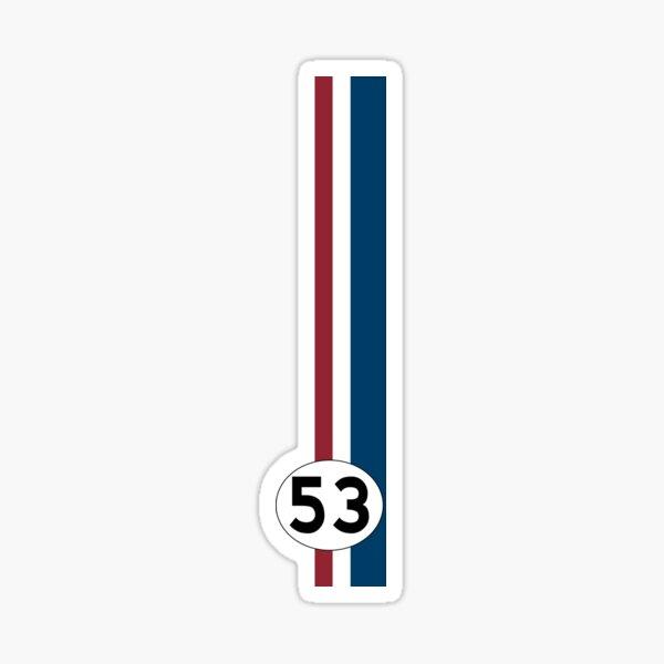 Herbie Stripes Sticker