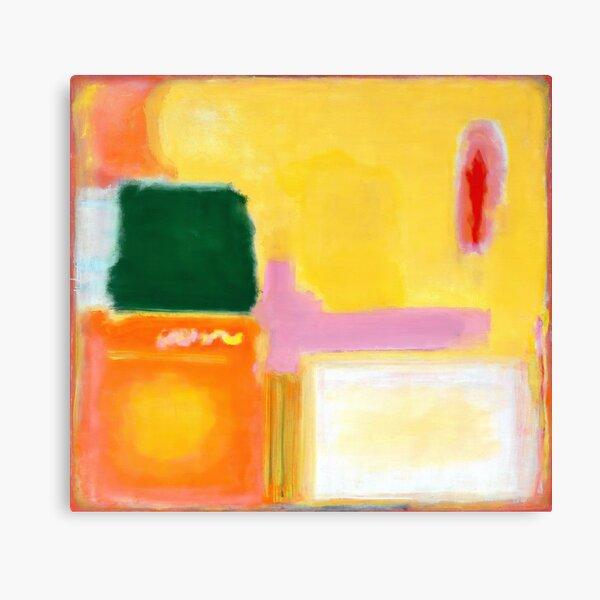 Mark Rothko - No 16 / No 12 (Mauve Intersection) Artwork Canvas Print