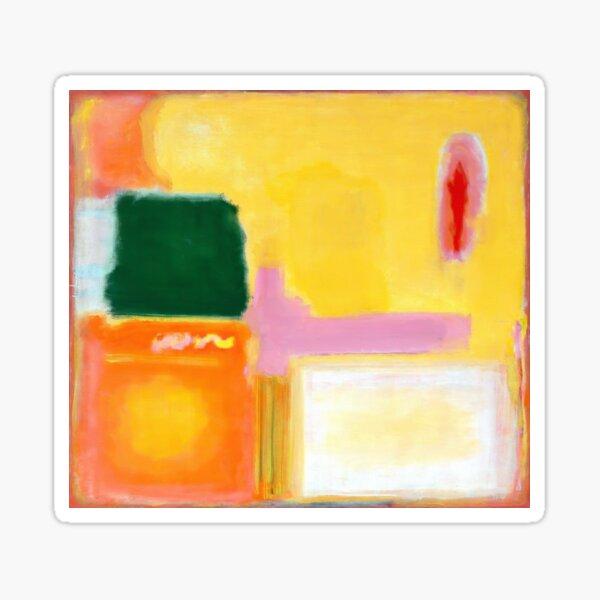 Mark Rothko - No 16 / No 12 (Mauve Intersection) Artwork Sticker