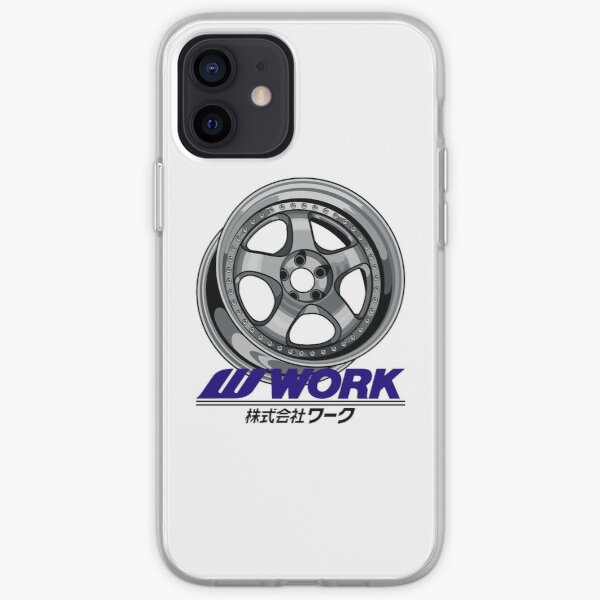 Car Wheel/Rim Work Meister iPhone Soft Case