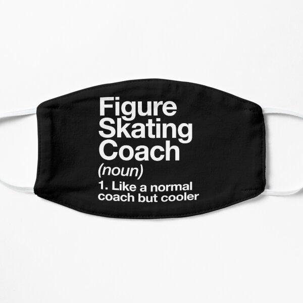 Figure Skating Coach Funny Definition Trainer Gift Design Mask