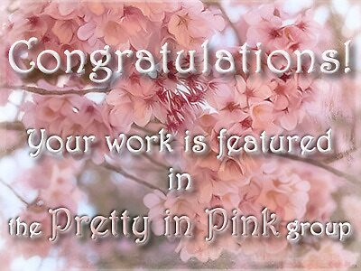 Proposed banner - Pretty in Pink feature by Celeste Mookherjee