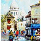 Mont Martre, Paris by Sama-creations