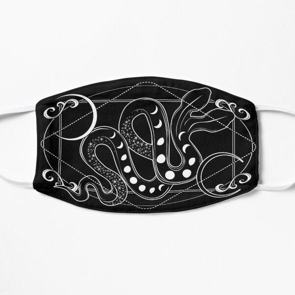 Moon Serpent Flat Mask