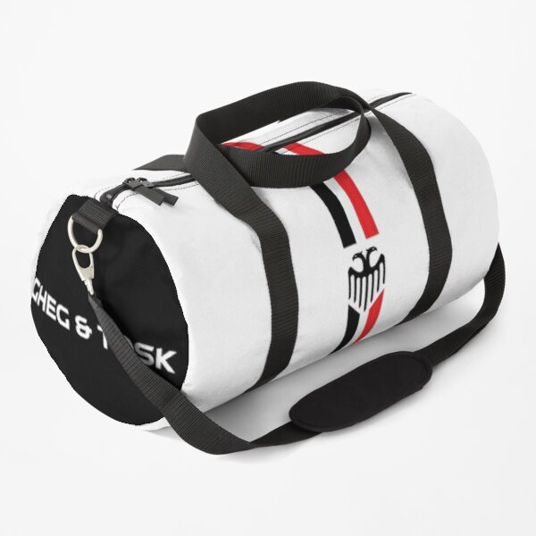 Gheg & Tosk Branding Stripes Duffle Bag