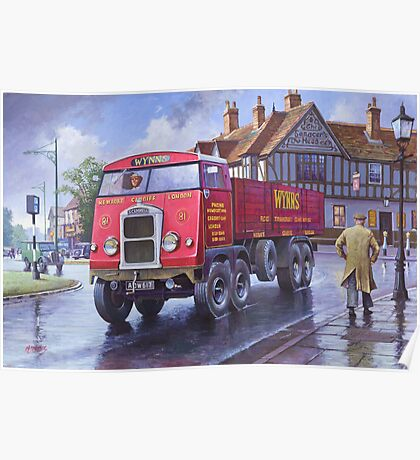 Scammell 8 1937 Poster