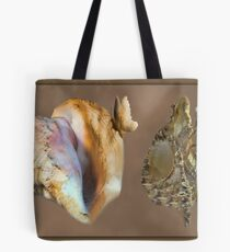 Ƹ̴Ӂ̴Ʒ SEASHELLS AND BUTTERFLY FLUTTER Ƹ̴Ӂ̴Ʒ Tote Bag