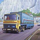 Ford Transcontinential by Mike Jeffries