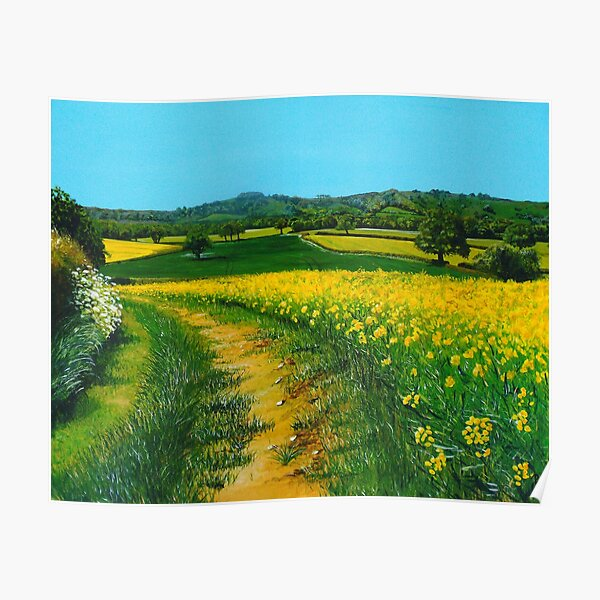 Downland Gold Poster