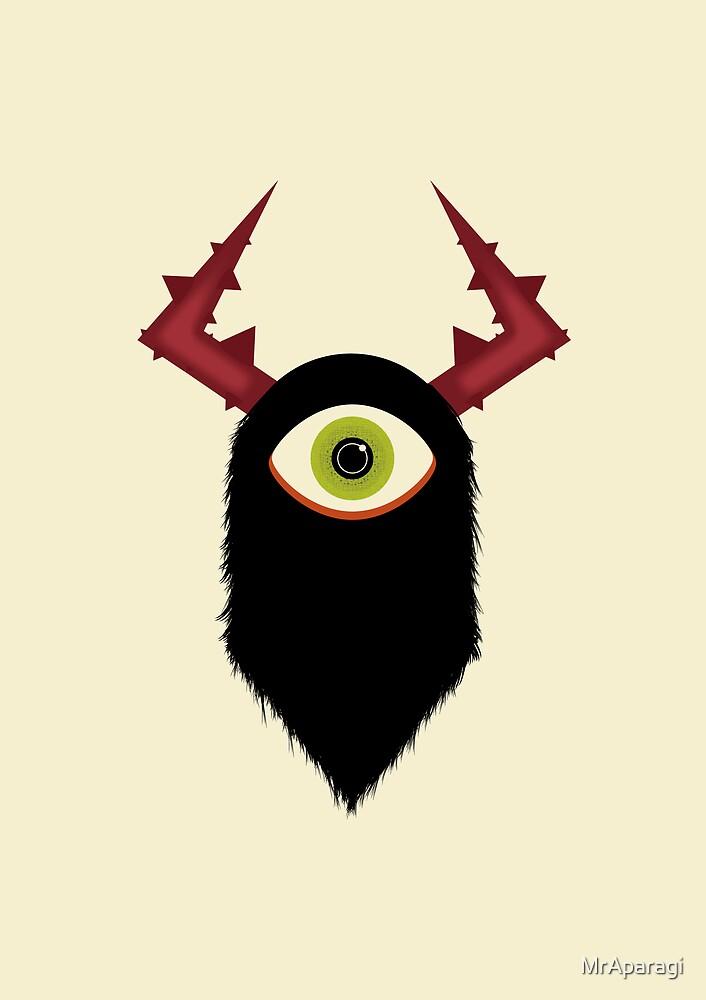 One Eye Monster by MrAparagi