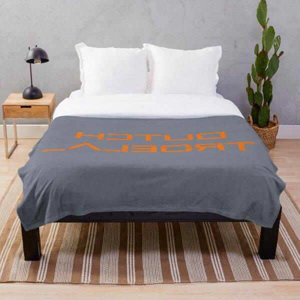 Aqua Libra - Selfie shirt  Dutch Troela. Throw Blanket