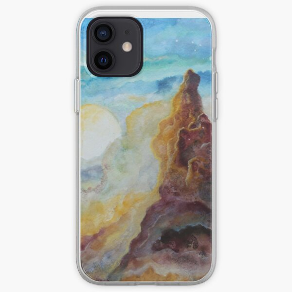 Storm Moon iPhone Soft Case