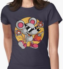 Vintage Mouser Women's Fitted T-Shirt