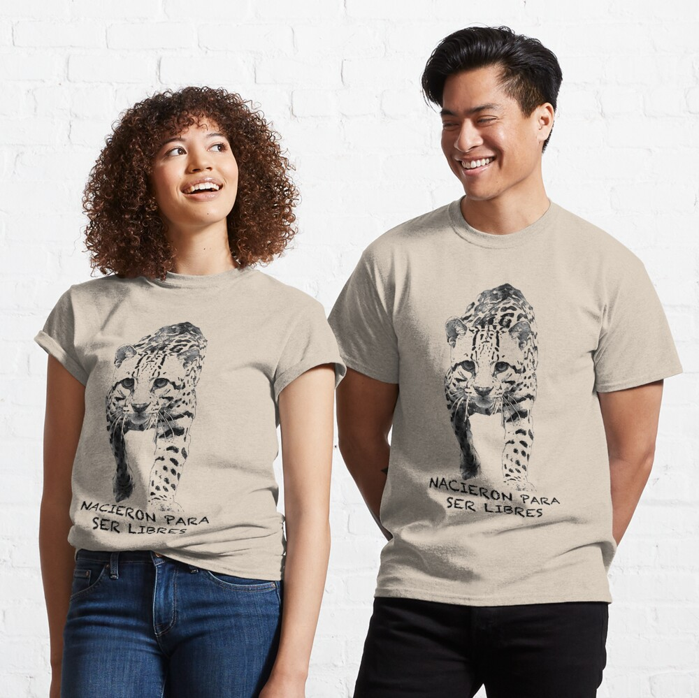 Ocelot: Born to be Free Classic T-Shirt
