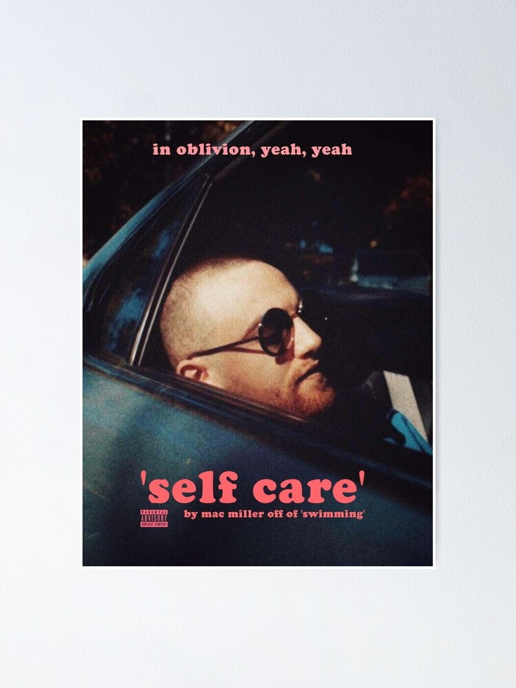 Alternate view of mac self care Poster
