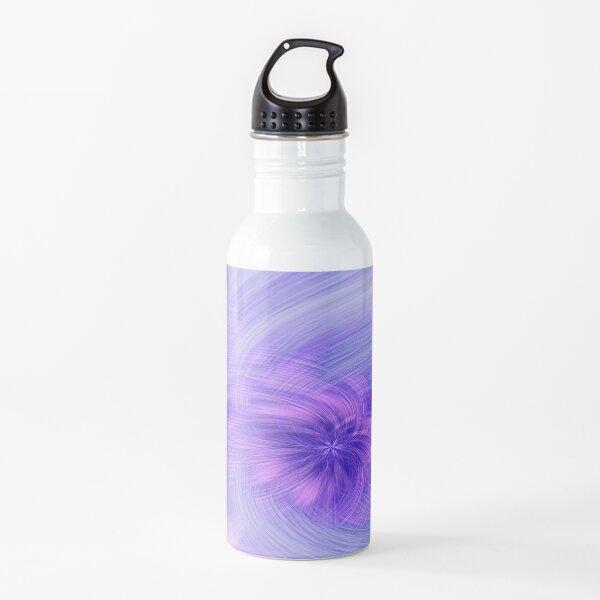 Purple Twirl Water Bottle